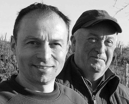 Franck Breton et Claude Bourreau