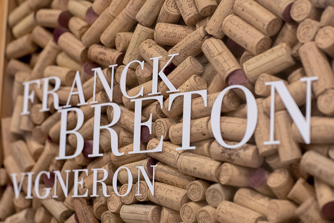 Tableau Bouchons Franck Breton ©Charlotte Lapeyronie